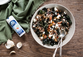 Kale & Quinoa Salad healthy recipe