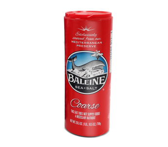 coarse sea salt la baleine